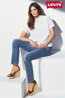 Indigo Levis® 714 Straight Jean