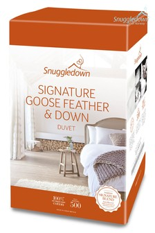 Snuggledown Goose Feather And Down 13.5 Tog Duvet