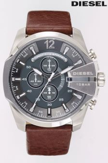 Diesel® Brown Mega Chief Watch