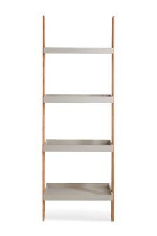 Bamboo Ladder Shelf Storage