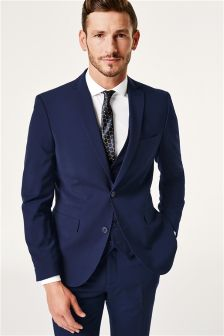 Blue Mens Suits | Blue Suits for Men | Next Official Site
