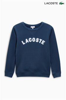Lacoste® Navy Logo Crew Sweater