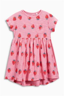 Pink Strawberry Tunic (3mths-6yrs)