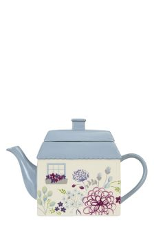 Peony Hand Painted Teapot