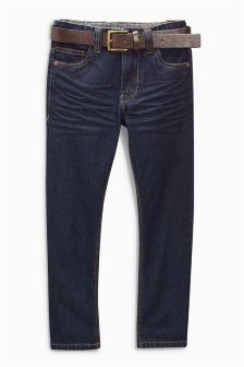 Regular Belted Jeans (3-16yrs)