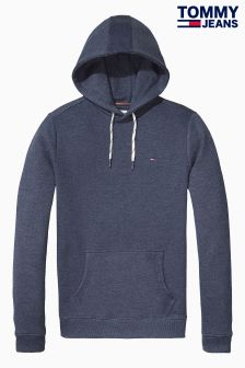 Tommy Hilfiger Denim Blue Hooded Sweatshirt