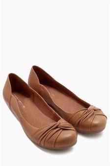 Twist Comfort Ballerinas