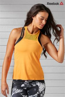 Reebok Gym Orange Studio Cardio Tank