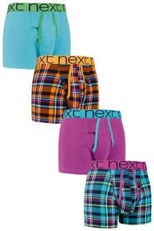 Multi Check Mix A-Fronts Four Pack