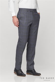 Ted Baker Grey EmirT Suit Trouser