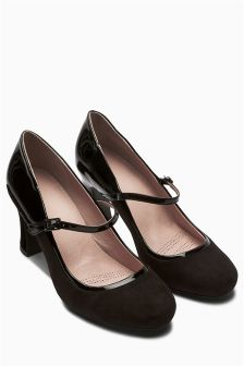 Black Forever Comfort Mary Jane Shoes