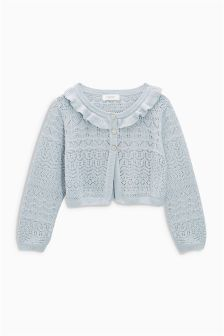 Sparkle Pointelle Cardigan (3mths-6yrs)