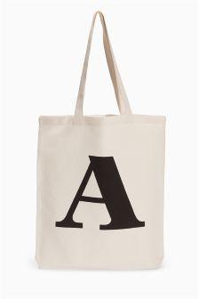 Canvas Shopper Bag