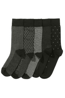 Formal Mix Socks Five Pack