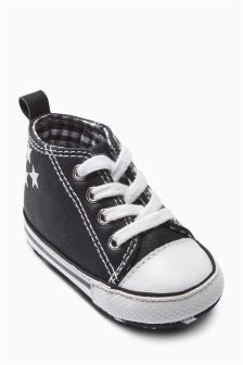 Pram Lace Boots (Younger Boys)