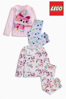 Lego™ Unicorn Pyjamas Two Pack (4-10yrs)