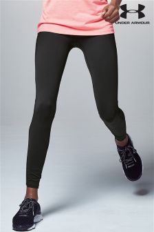Under Armour Black Run Fly By Legging