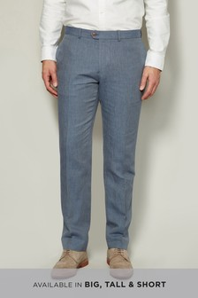 Irish Linen Cotton Trousers