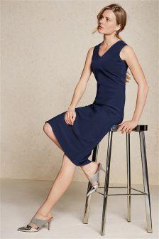 Topstitch Dress