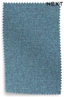 Tweedy Blend Teal Upholstery Fabric Sample
