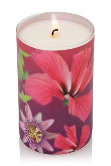 Passion Fruit & Hibiscus Fragranced Pillar Jar