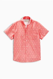Short Sleeve Print Shirt (3-16yrs)