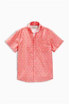 Short Sleeve Print Shirt (3-16yrs)