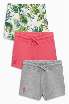 Tropical Shorts Three Pack (3-16yrs)