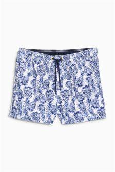 Pineapple Print Swim Shorts