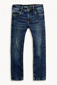 Vintage Wash Distressed Skinny Jeans (3-16yrs)