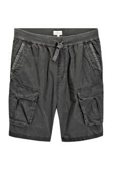 Jersey Waistband Cargo Shorts