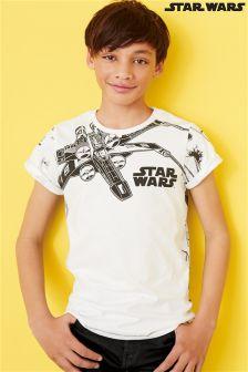 White Star Wars™ X-Wing T-shirt (3-14yrs)