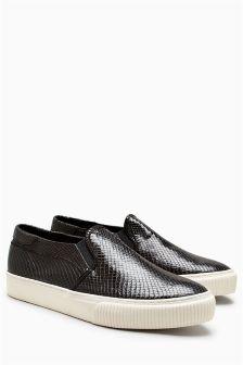Slip-On Skater Shoes