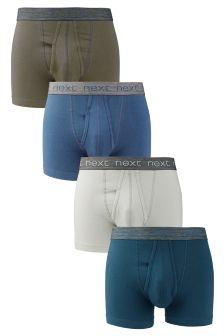 Blues Colour A-Fronts Four Pack