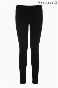 Warehouse Black Ultra Skinny Cut Jean