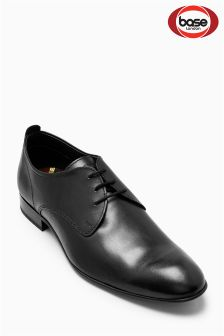 Base London Black Business Softy Lace-Up Shoe