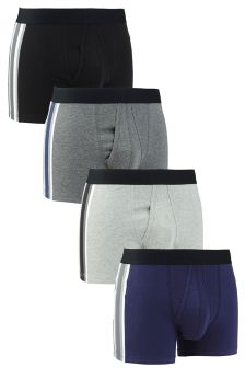 Side Stripe A-Fronts Four Pack