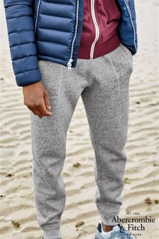 Abercrombie & Fitch Grey Cuffed Slim Jogger