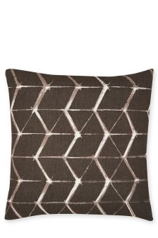 Outdoor Geometric Print Cushion