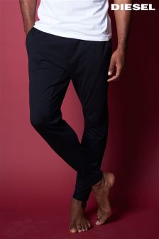 Diesel® Black Cuffed Lounge Pant