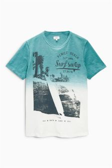 Dip Dye Surf T-Shirt