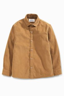 Long Sleeve Cord Shirt (3-16yrs)