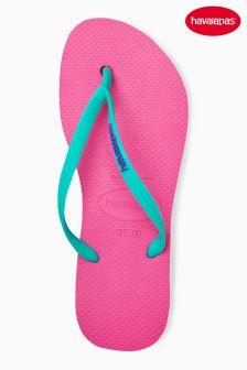 Havaianas® Shocking Pink Slim Flip Flop