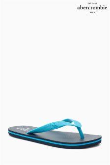 Blue Abercrombie & Fitch Flip Flop