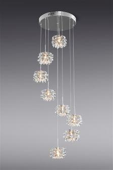 Ritz 8 Light Cluster Pendant