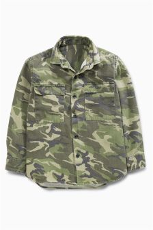 Camo Long Sleeve Shirt (3-16yrs)