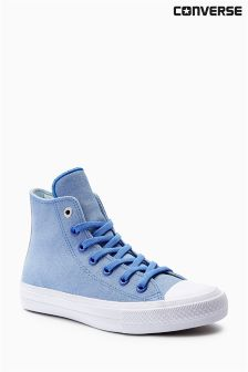 Converse Blue Leather Chuck Taylor All Star ll