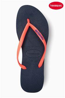 Havaianas® Navy Slim Flip Flop