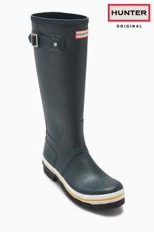 Hunter Original Navy Tall Buoy Welly