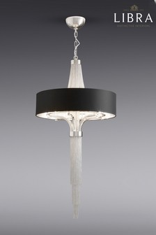 Buy lighting ceiling lights black chandelier ceilinglights from the libra langan 5 light chandelier aloadofball Images
